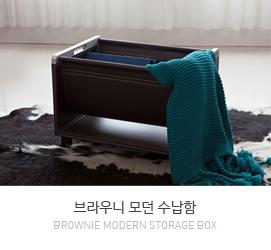 브라우니(Brownie) 수납함